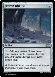 Frozen Obelisk